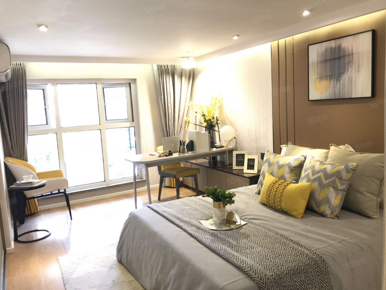 庄桥地铁口挑高5米复式公寓可做两室可出租可自住配套齐全