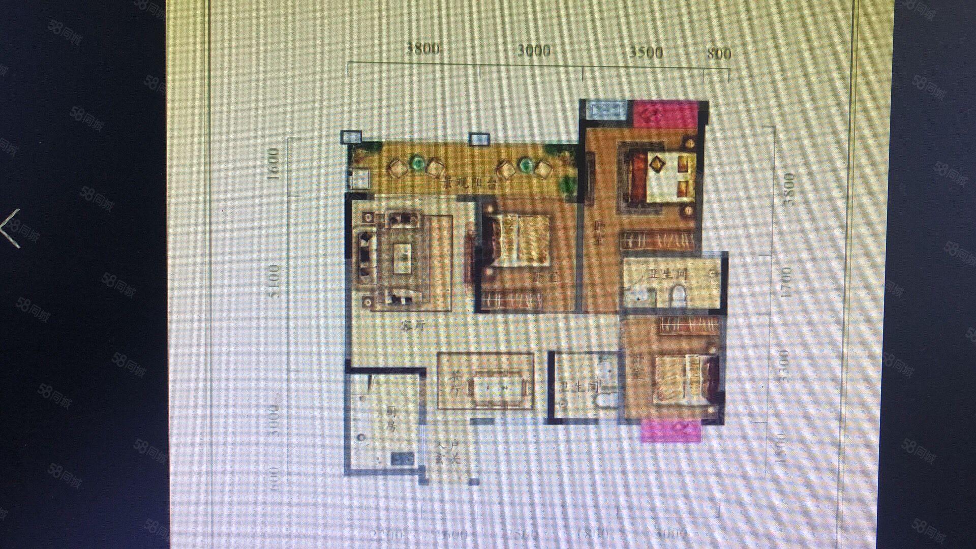 房东急卖枣山皇家府邸4600一平中间楼层需全款
