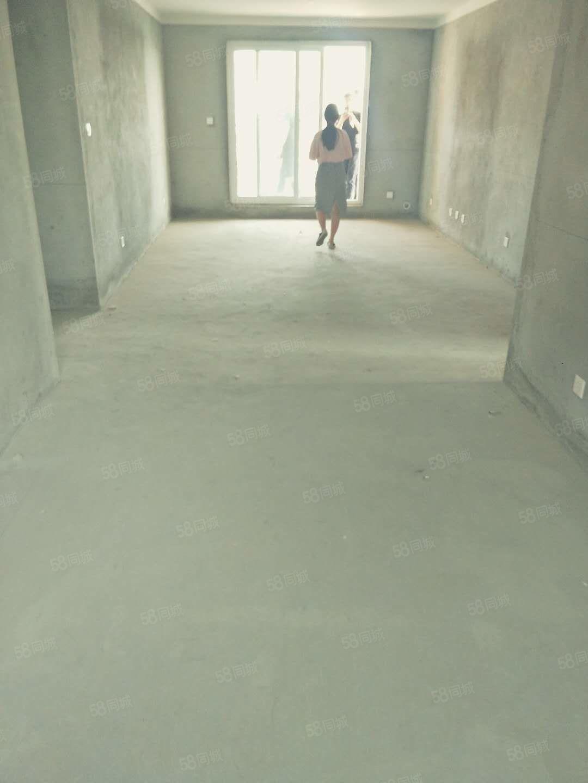 九中學校小高層西邊戶124平毛坯采光無敵好全款65萬