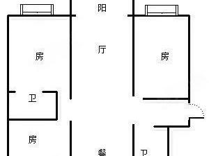 金厦华庭装修4楼飞机户型南北通低于市场买到赚到七小二初校区房