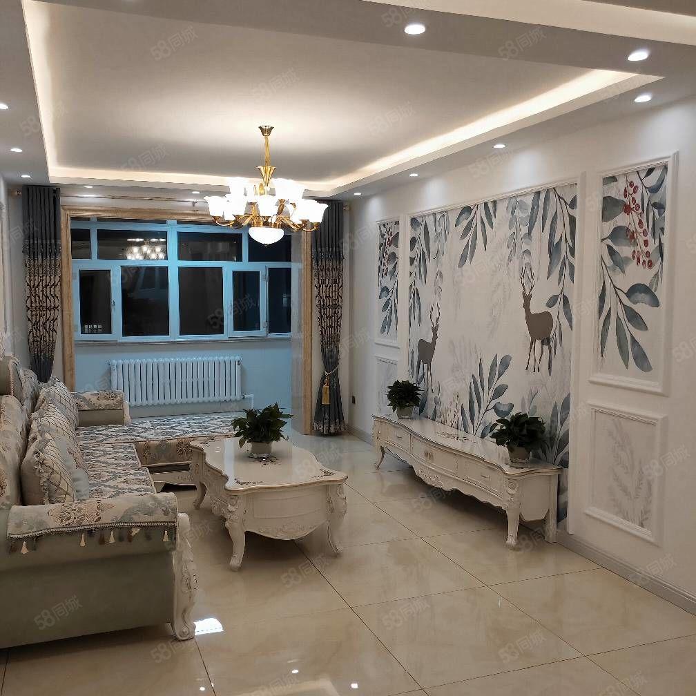 新繁荣小区,正五楼,95平米,豪华装修,品牌装修材料!婚房