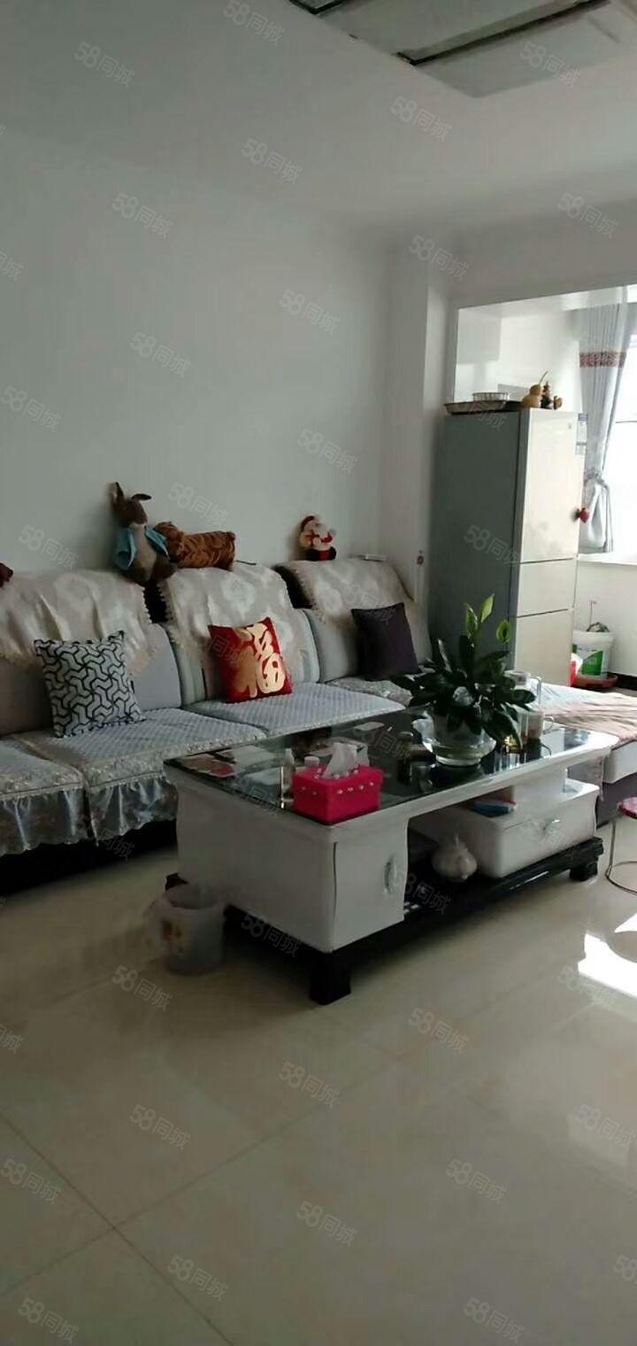 海天花园.三室两厅一卫.中装带家具.