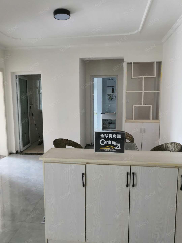 出租河畔铭城简装修两室一厅拎包即住!