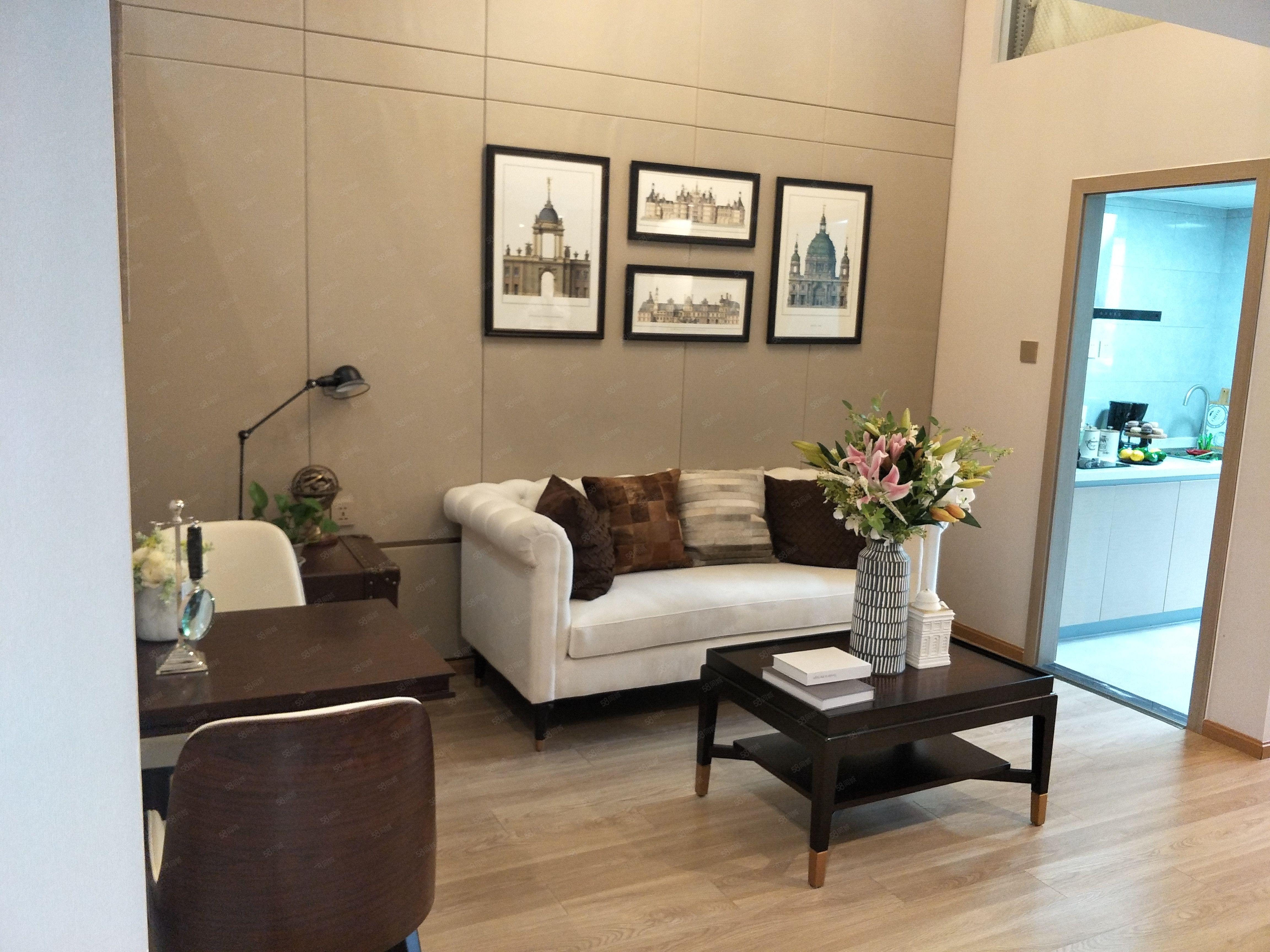 湿地公园LOFT公寓28买套二实得单价3600配套随时看