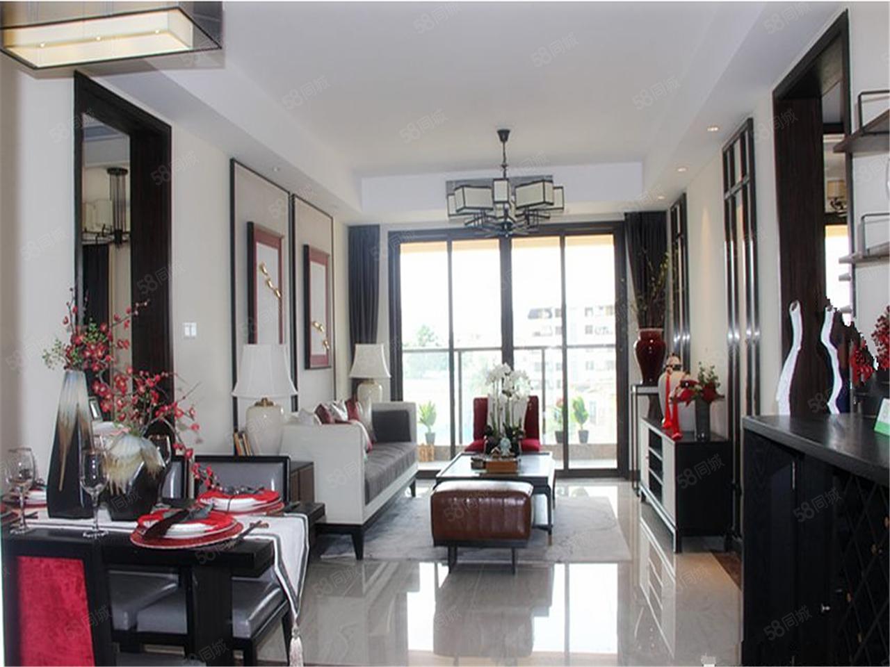 三亚星域现房出售即买即住带家具出售大阳台的房子
