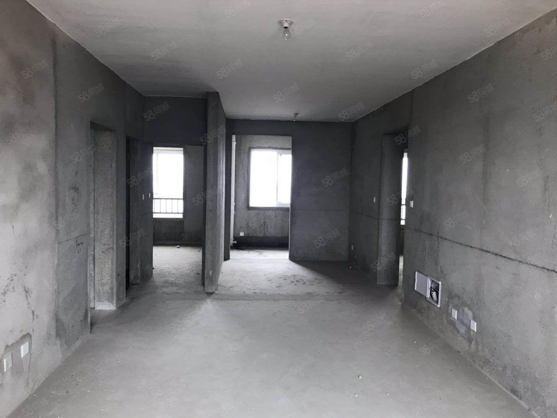 合和百富城小高層鉆石樓層毛坯3室2廳2衛南北通透僅售85萬