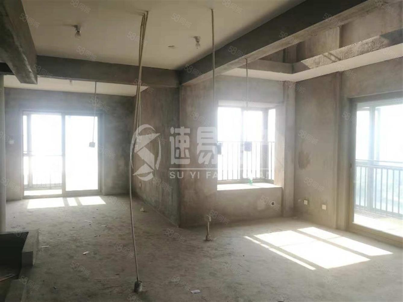 红树林端头双层复式使用180平大3房4阳台高层看江房