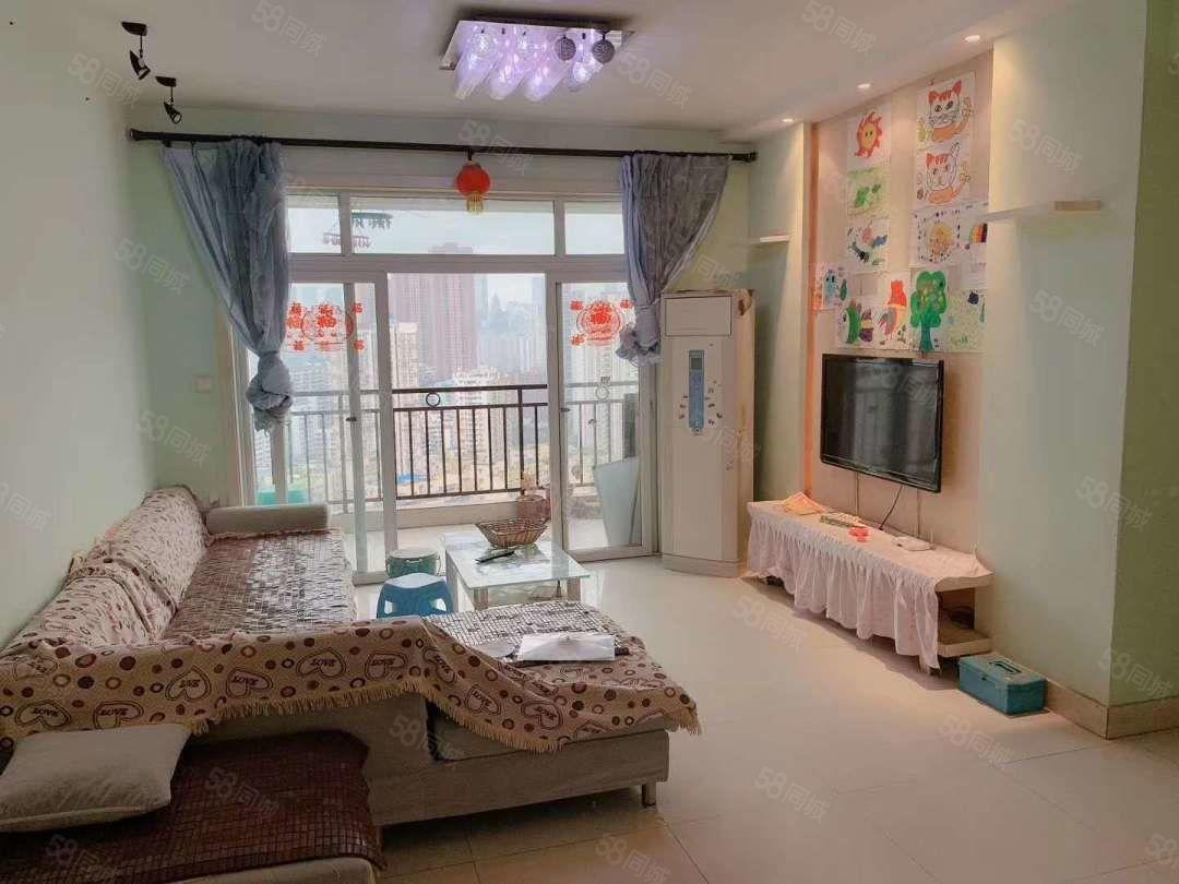 将坛小区精装3室2厅带家具家电,房子很干净,南北通透随时看房