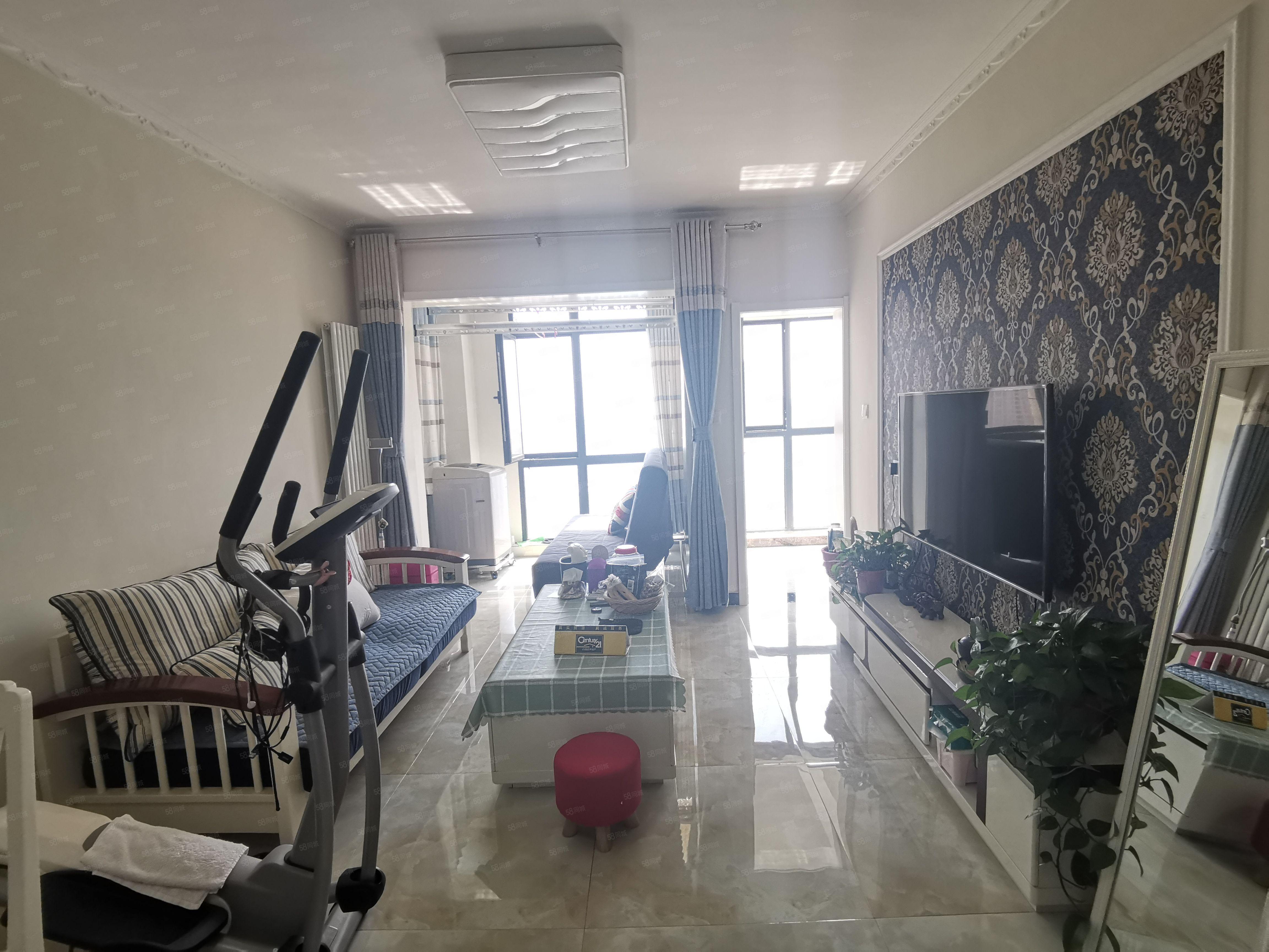 英地金臺府邸精裝兩房業主不在鄭州發展著急出售
