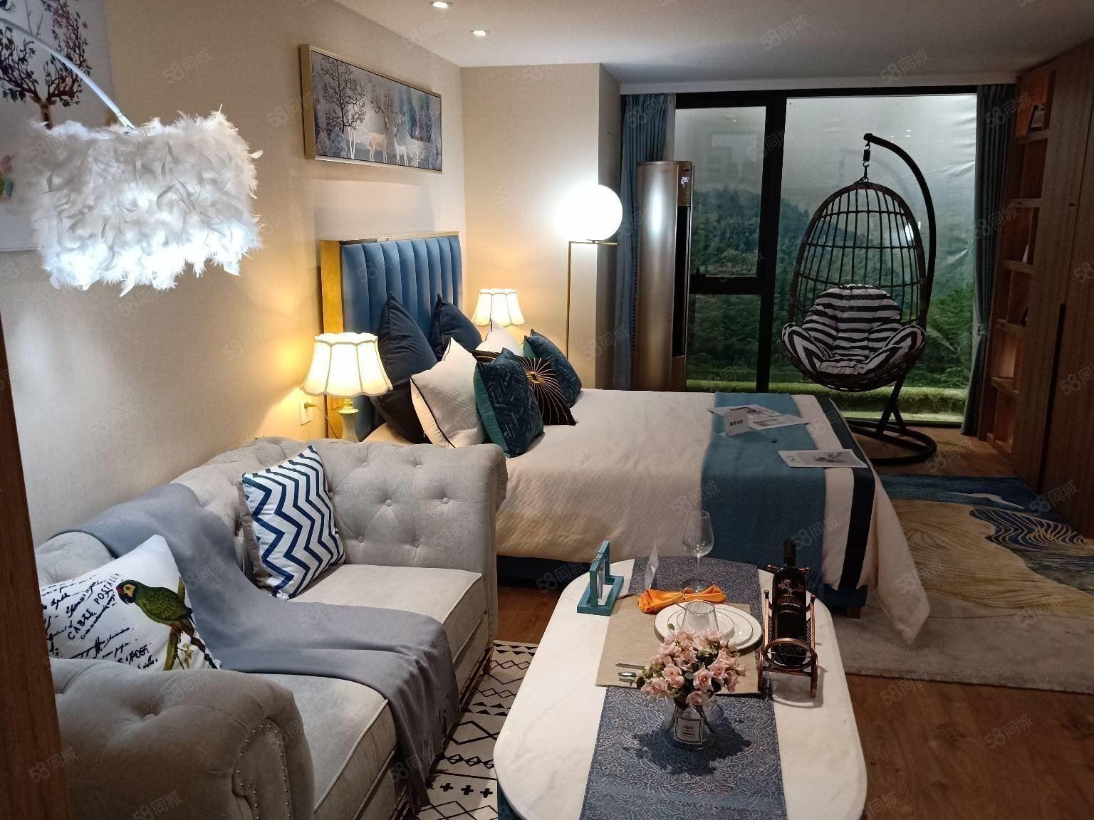 銀湖科技城板塊loft雙鑰匙精裝公寓6號線科創站200米