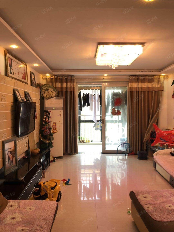 巨融國際豪園多層三樓帶車庫精裝三室送家具家電滿五唯一!