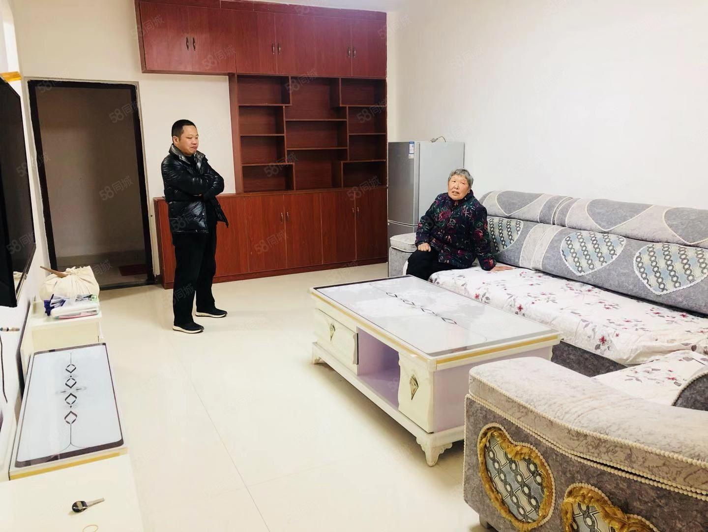 周师西门馨丽康城精装两室家具家电齐全拎包入住如图。