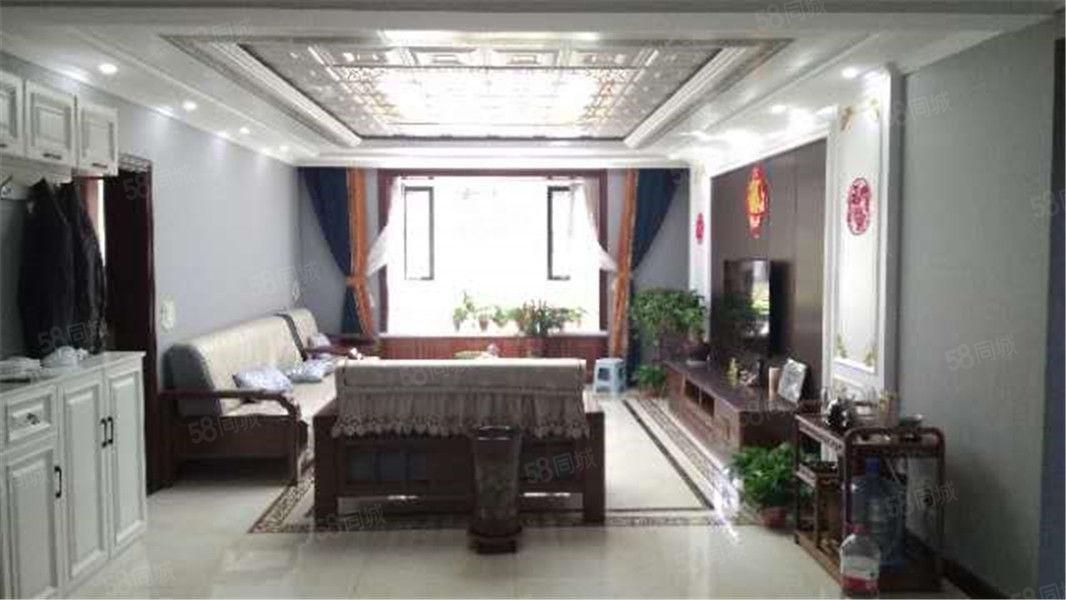 景觀花園房,恒基碧園紅木家具全新精裝一樓出售!!