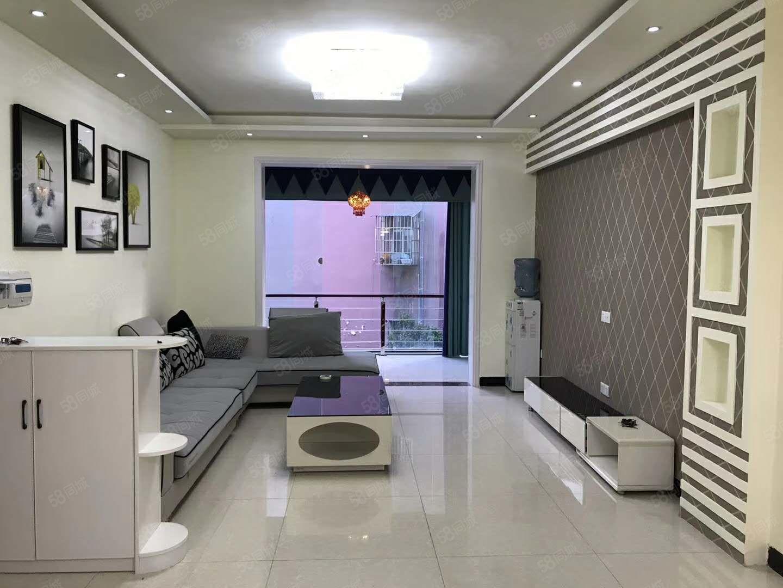 蓬城印象现浇3楼精装三室二厅二卫中庭位置另带个单独书房