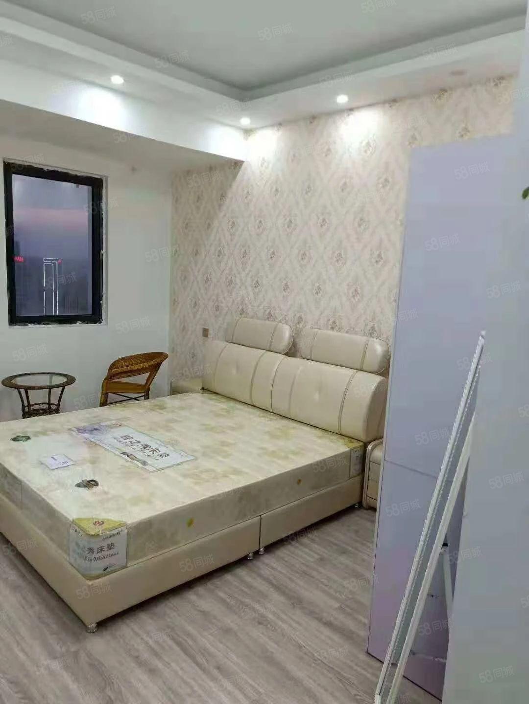 万达公寓精装出租月租1500家电齐全随时可看拎包入住
