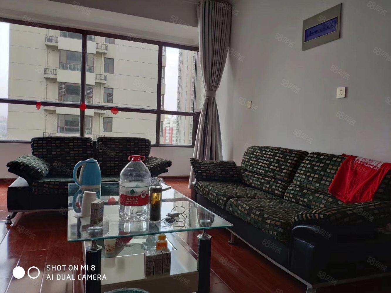紫云国际,三室二厅,电梯中层,拎包入住,新装首次出租