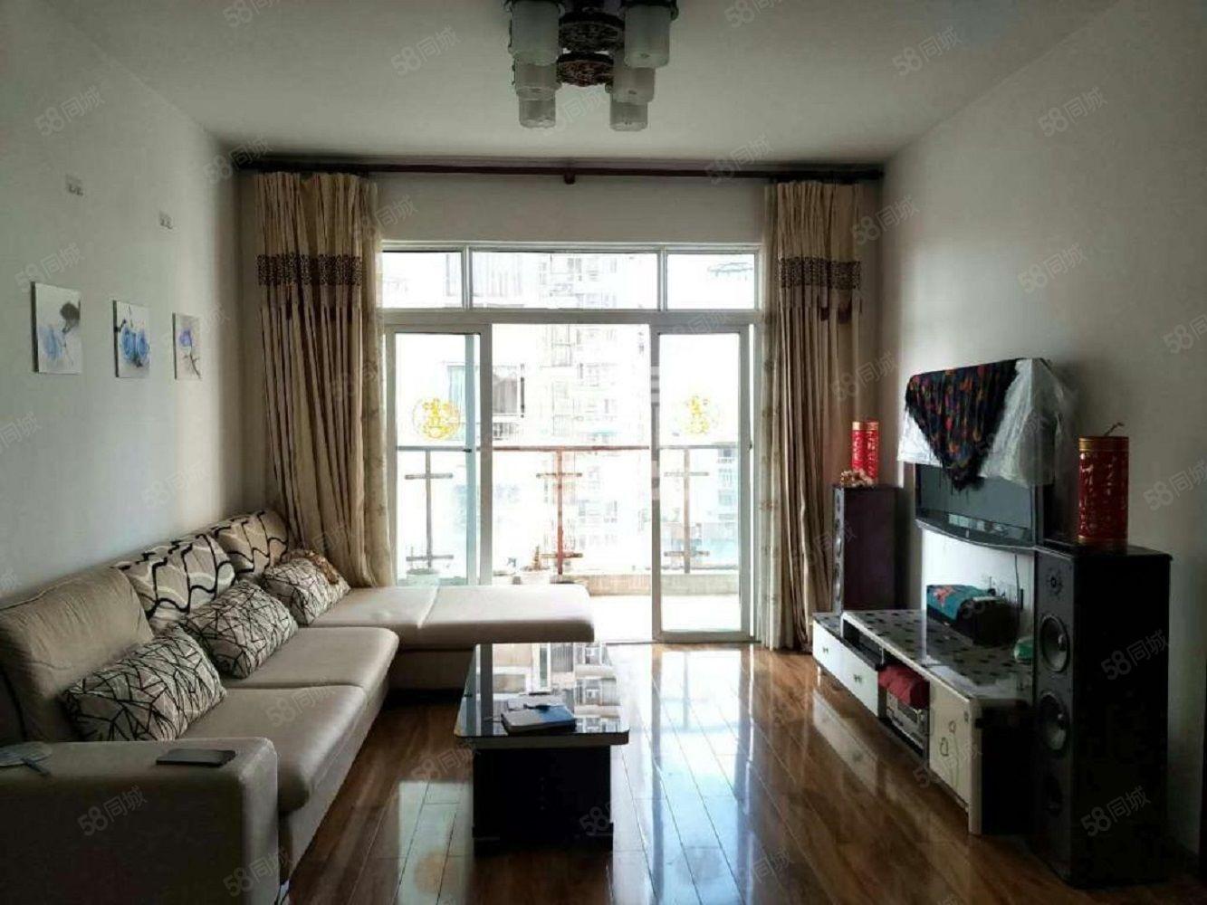 上江城电梯中层精装两房紧邻湿地公园拎包入住随时看房