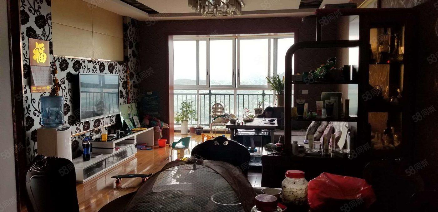 黔龙新城三室带书房豪华装修户型房子大气