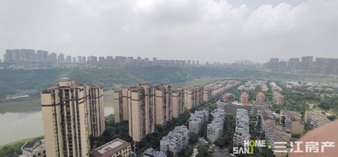 全景望江电梯顶跃清水带两露台花园加楼顶花园