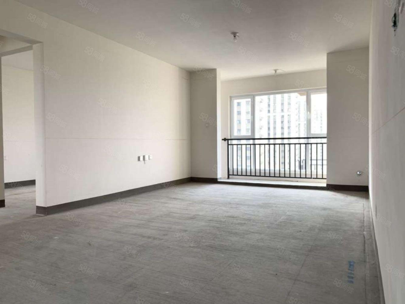 中海城锦园毛坯四居室采光好随时看房全明户型