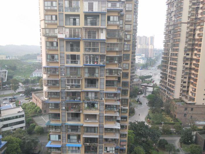 龙马大道三段江城国际大四房对小区中庭户型方正