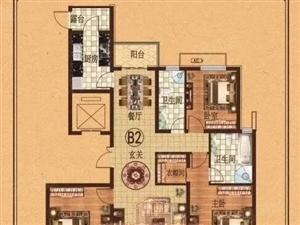 直接签合同首付百分303室2厅2卫全明好户型