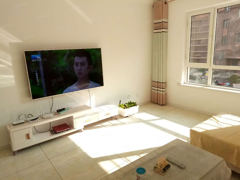 北岸金城2楼107平2室2厅精装修52.5万家具家电全带