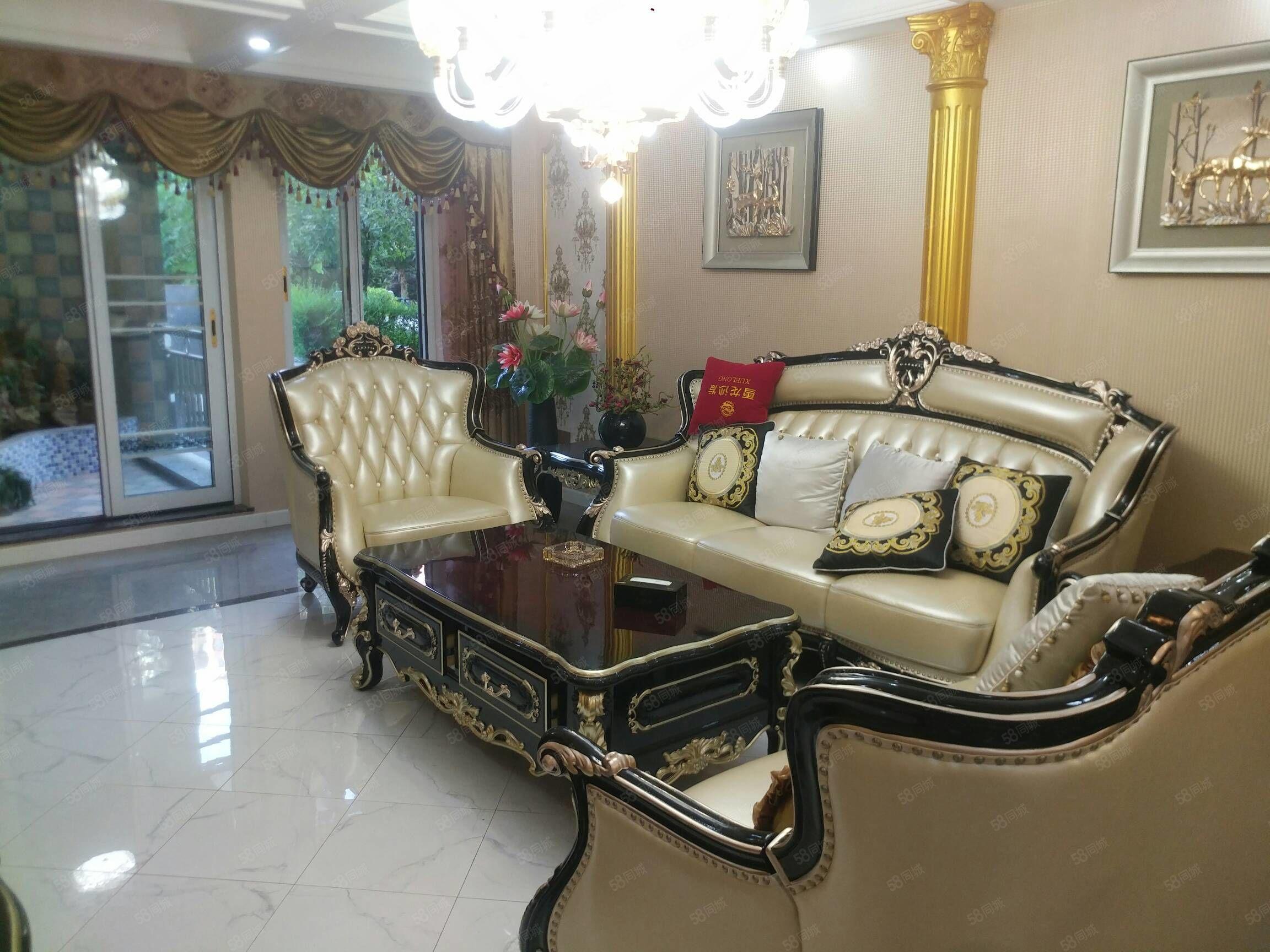 高品质小区,豪华装修5房,带家具家电一起领包入住