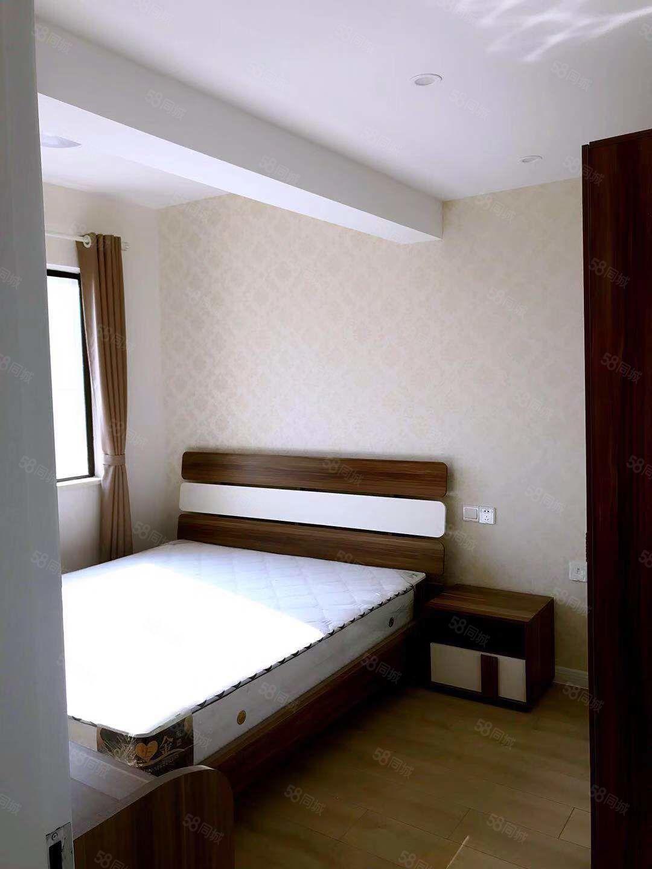 万达对面火车站附近远洲九悦庭精装修一室一厅家电家具齐全拎包入