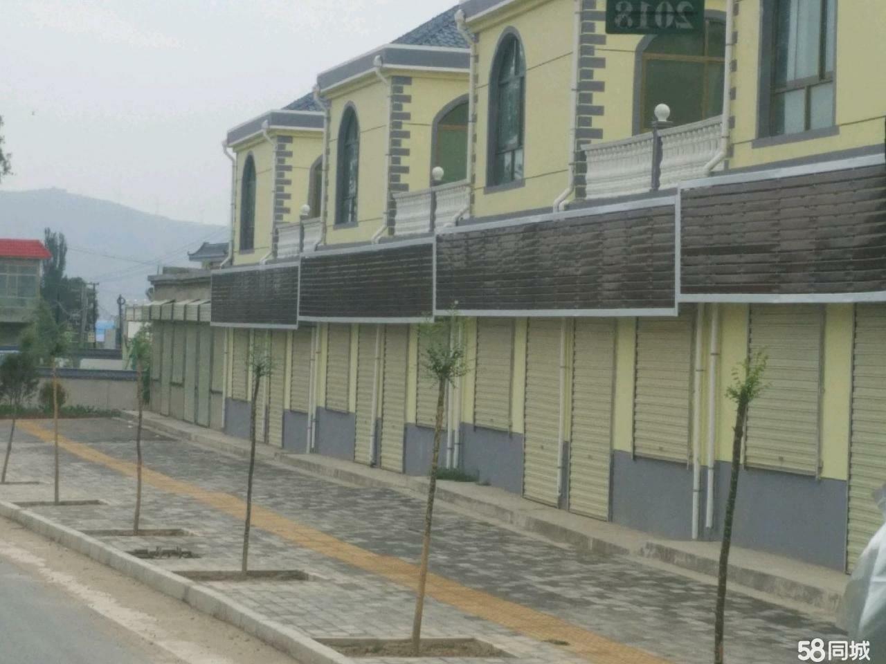 083县道临路自建二层房可租可出售