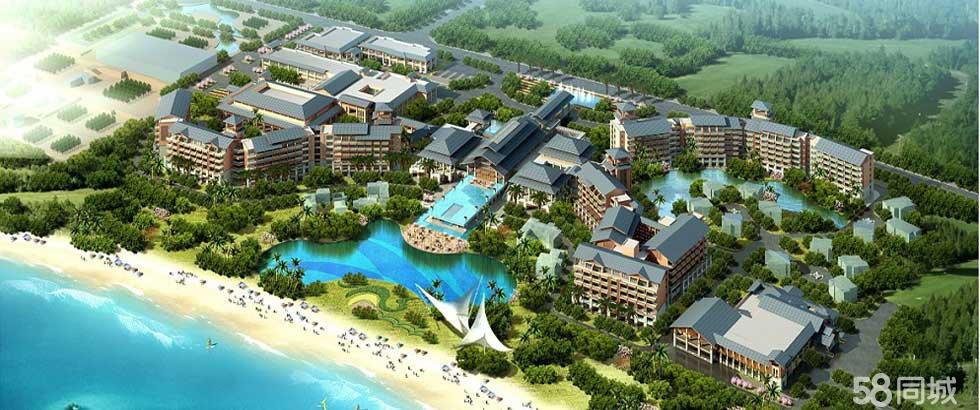 临高限量海景公寓碧桂园金沙滩35-133�O优惠价55万起