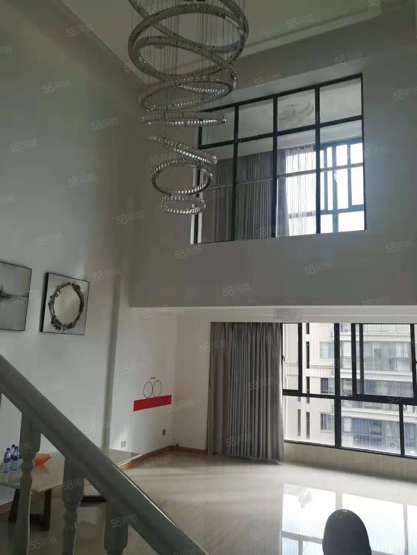 帝豪广场高层楼中楼产权面积209.2米,赠送30平露台带车位