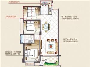 中骏蓝湾香郡88平刚需3房仅需10100