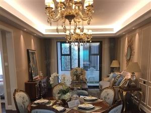 金域豪庭正规三室边户南北通透欧式豪装拎包入住无税