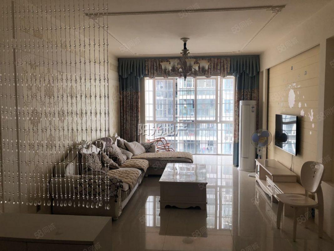 阳光吐血价万达东城绿洲精装3房纯中庭中间好楼层业主婚房