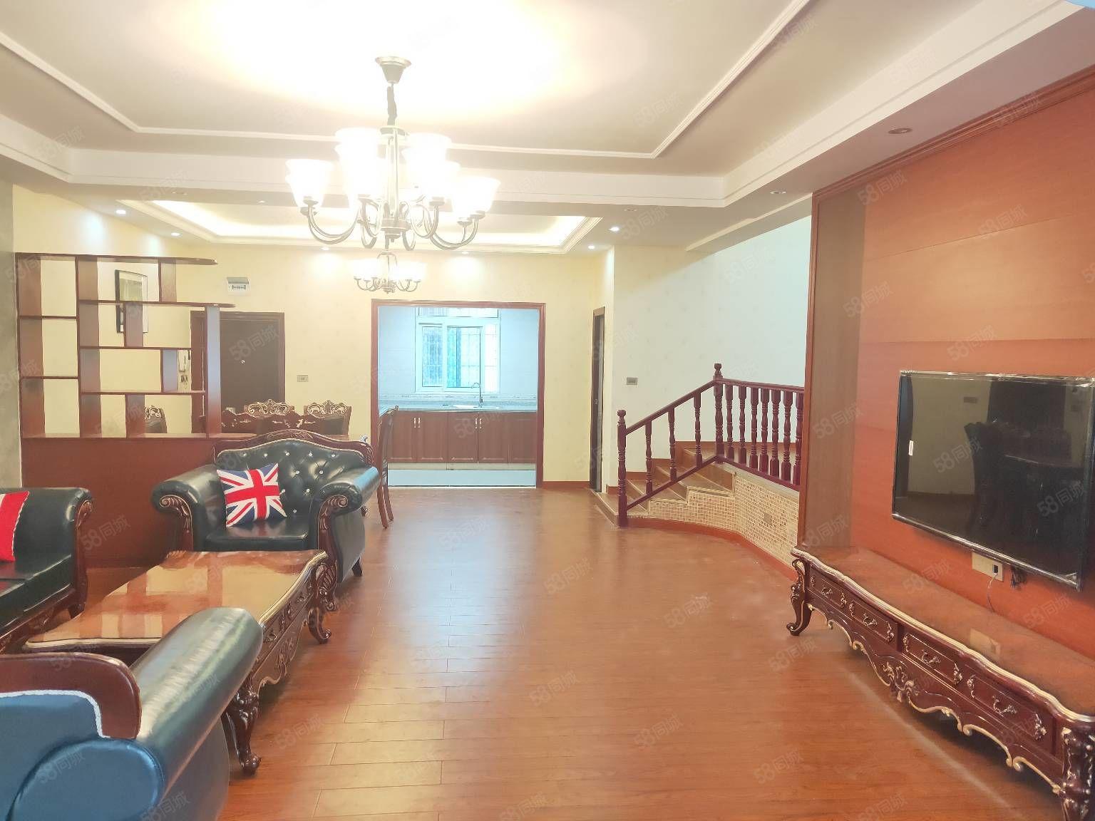 锦天小区,实木家具,豪华全新装修,停车方便,件证齐全,可按揭