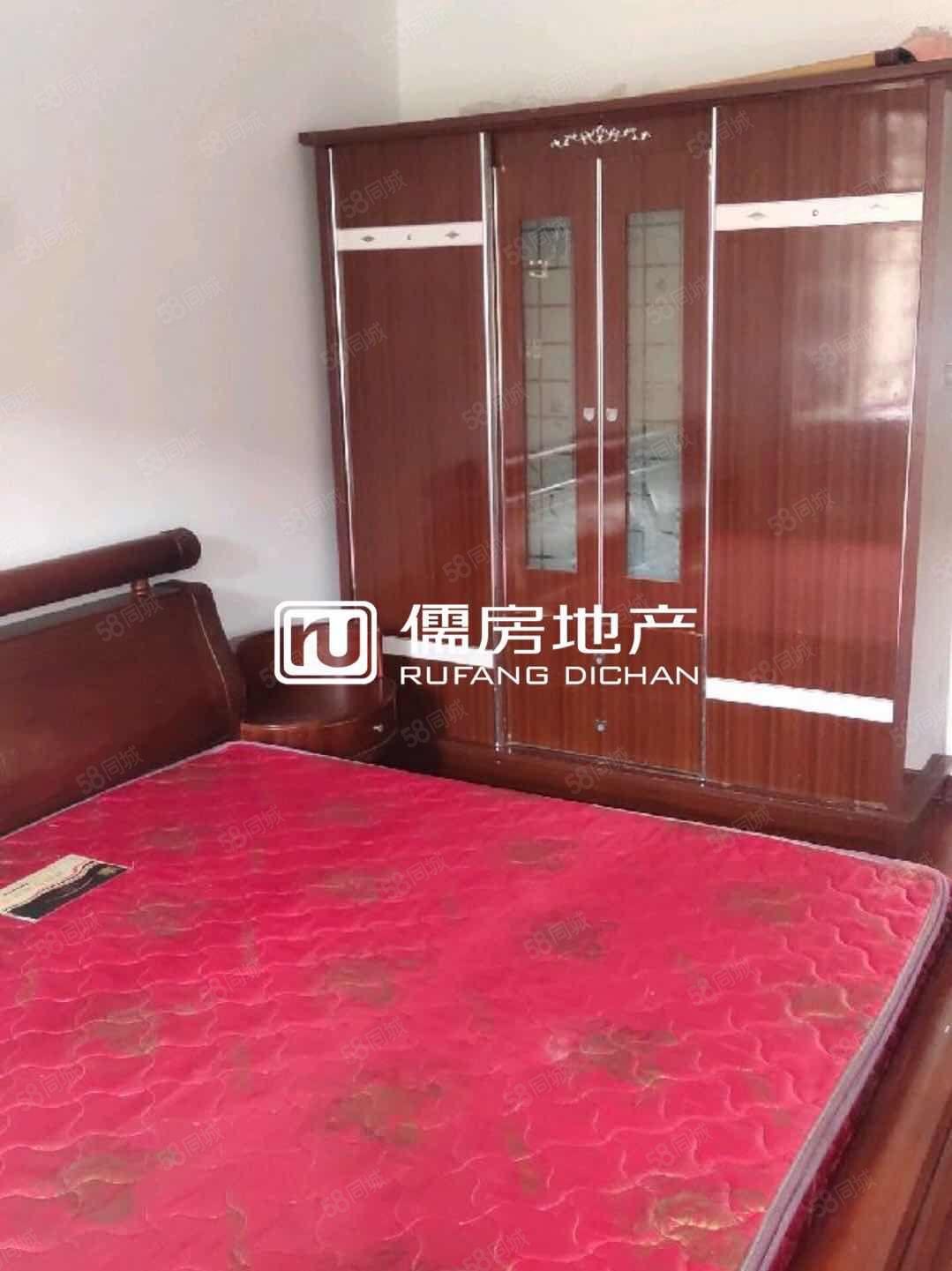 江洲大桥附近新装修三楼两室,家具齐全,拎包入住.