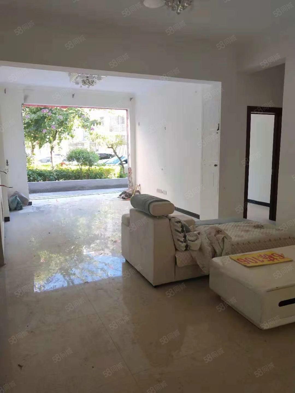 出售鑫盛时代一楼带40平花园紧凑型三室简单装修