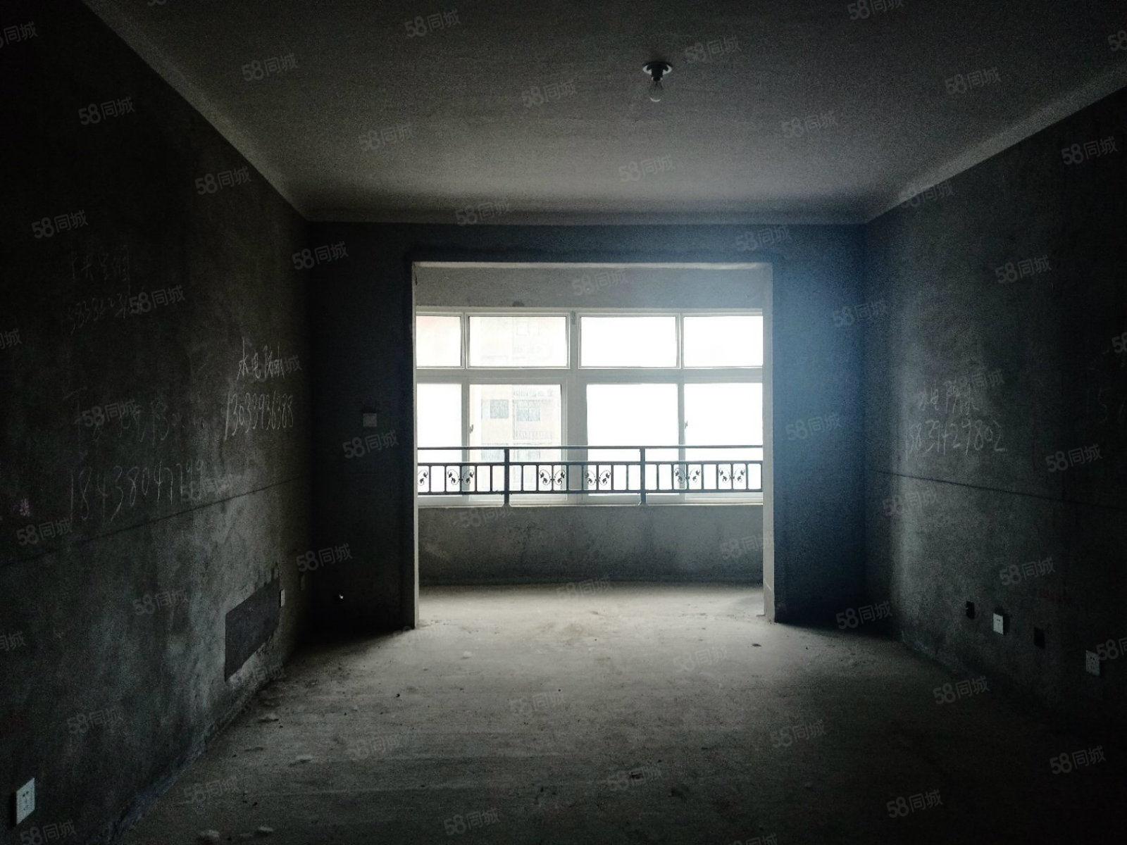 急售毛坯大三房纯南户型两卧朝南客厅朝南有证可按揭
