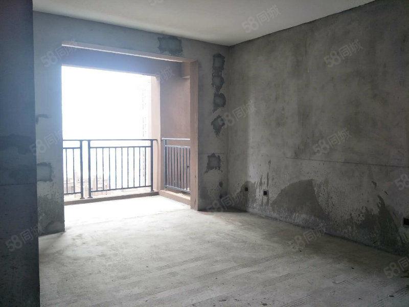 保真!蓝鼎中央城新空毛坯三室两厅中间楼层证齐可贷款