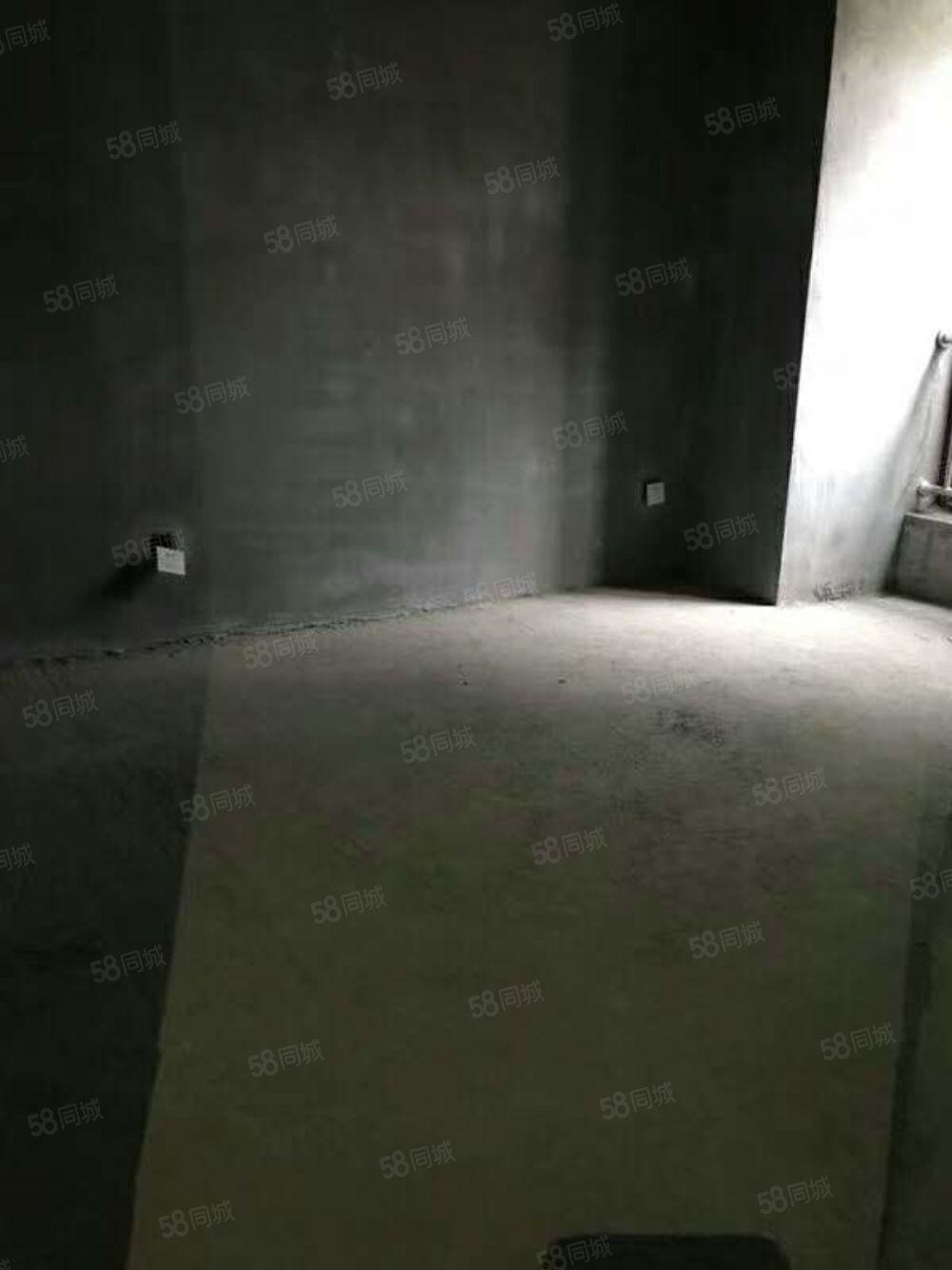 日月星城两室毛坯可自由装修有证可按揭随时看房