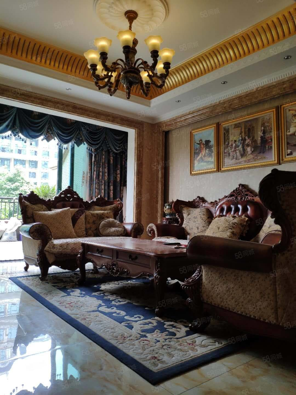 急賣恒大躍層3躍4精裝家具家電160平,現降價賣146萬
