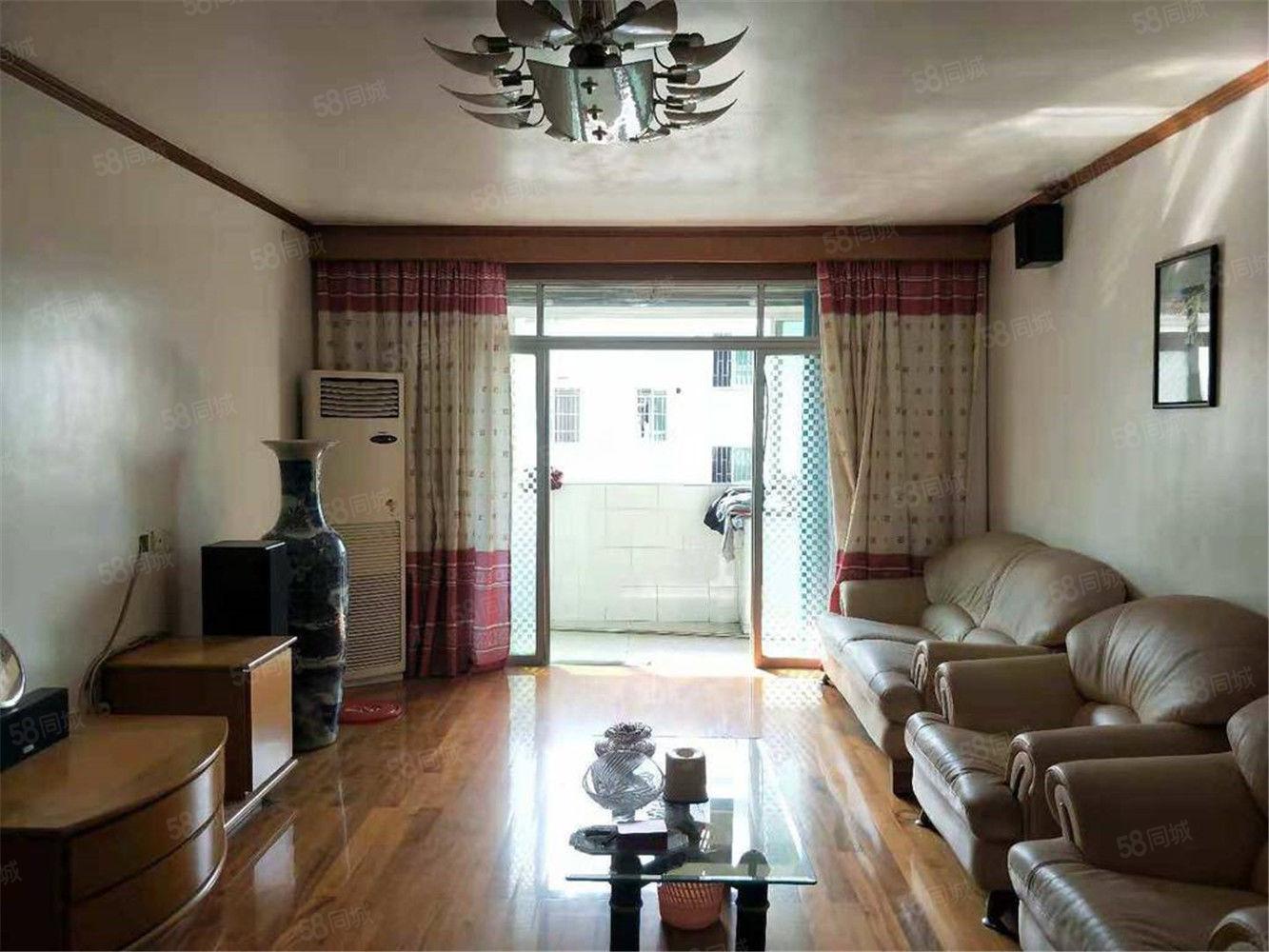 古城街道白塔小區精裝修三居室帶車棚南北通透好房子采光好小戶型