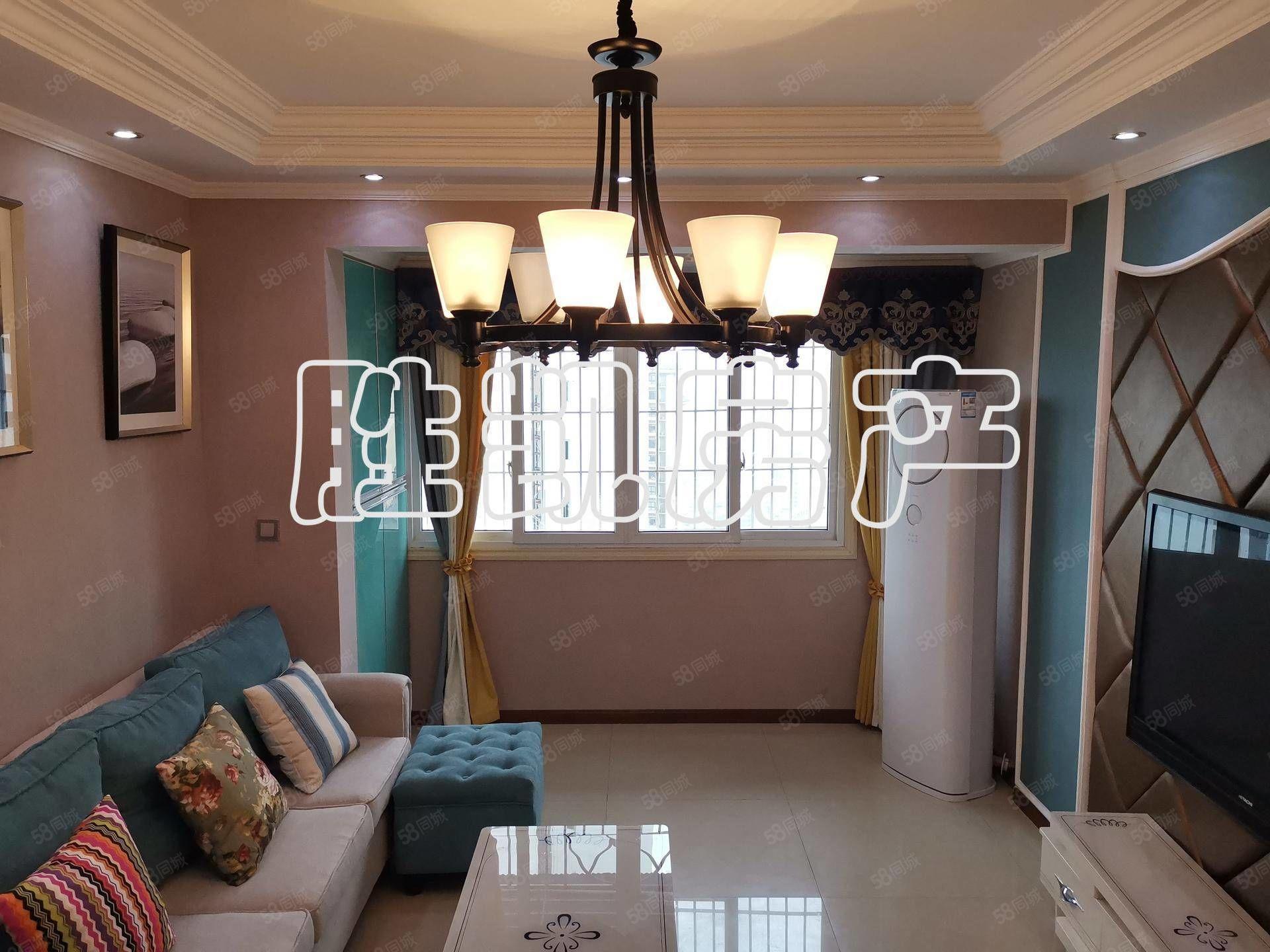 四环路现代装修端头户型58万价3室2厅业主诚心出售
