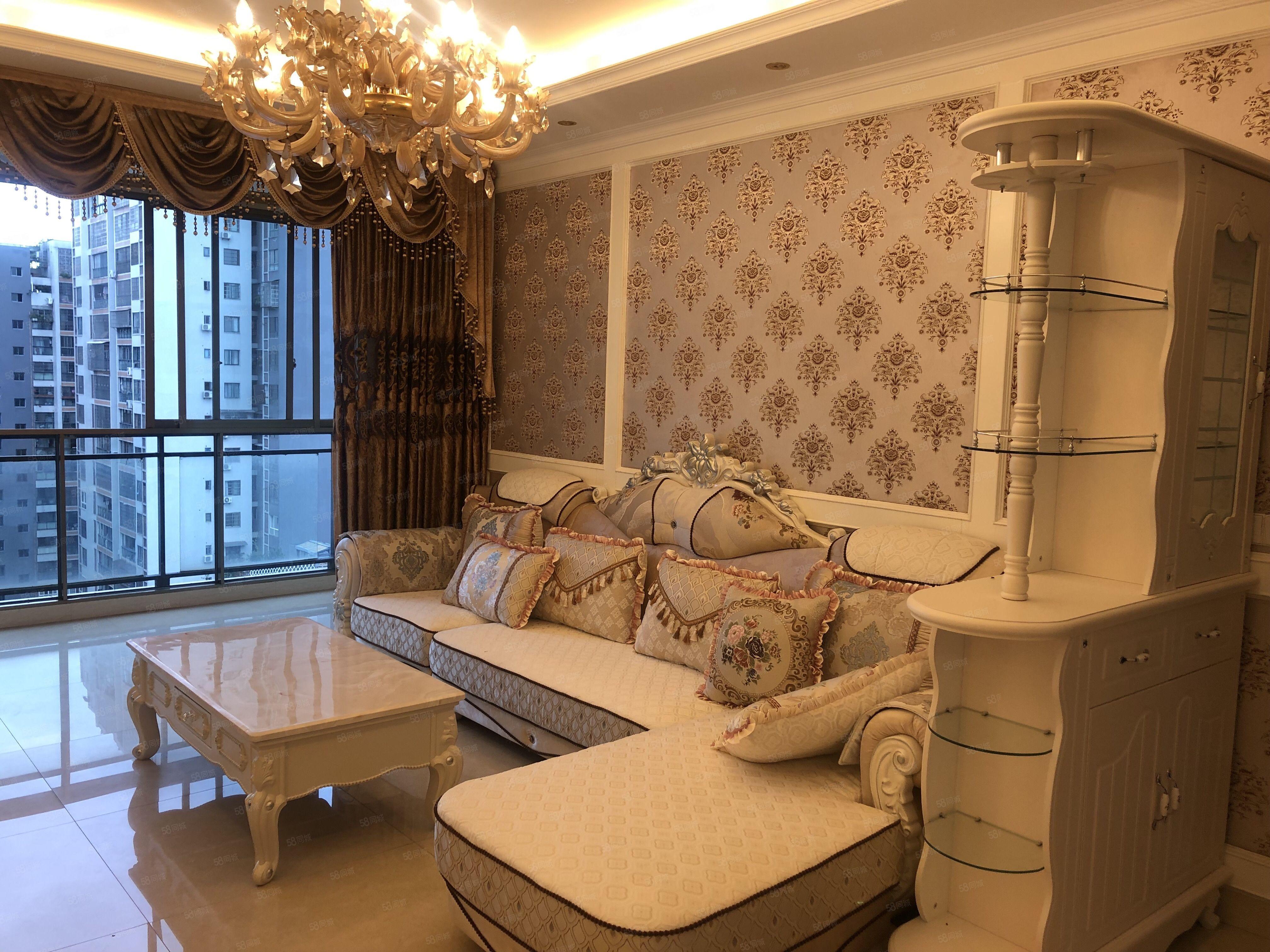 蜀東酈府精裝三室可改四室正看中庭過戶費低看房方法便