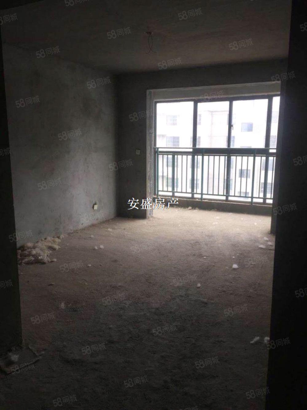 鑫苑新城电梯房毛坯两室两厅中层采光充足可更名