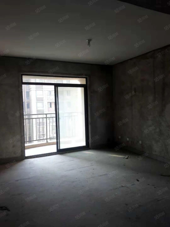 金源广场电梯7楼112平3室2厅毛坯新房66万景观有钥匙