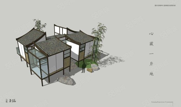 私人訂制拎包入住花園400平起總價36萬起到68萬
