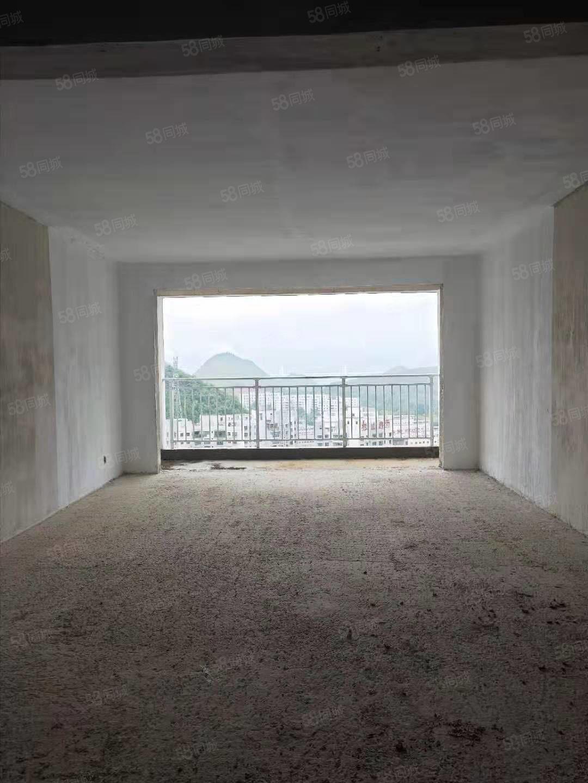 桔山施達星城三室兩廳兩衛毛坯房底價出售
