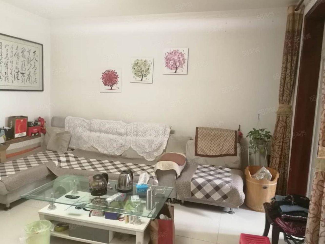 文林路(紫韵东城)简装两室带家具钻石3楼集中供暖可按揭学區房